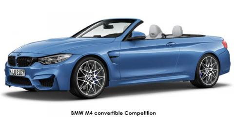 BMW M4 convertible Competition auto