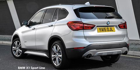 BMW X1 sDrive20d Sport Line sports-auto - Image credit: © 2018 duoporta. Generic Image shown.