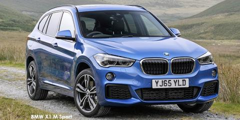 BMW X1 sDrive20d M Sport sports-auto - Image credit: © 2019 duoporta. Generic Image shown.