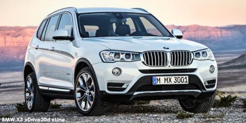 BMW X3 xDrive20i xLine