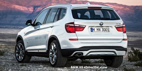 BMW X3 xDrive20i xLine auto