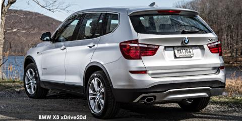 BMW X3 xDrive20i Exclusive