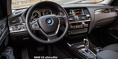 BMW X3 xDrive20i Exclusive