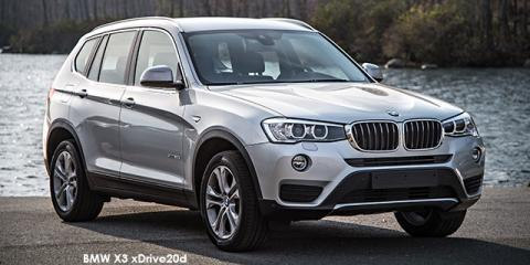 BMW X3 xDrive20i Exclusive auto