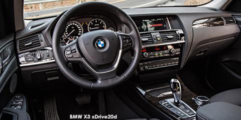 BMW X3 xDrive20i Exclusive auto