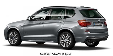 BMW X3 xDrive35i M Sport