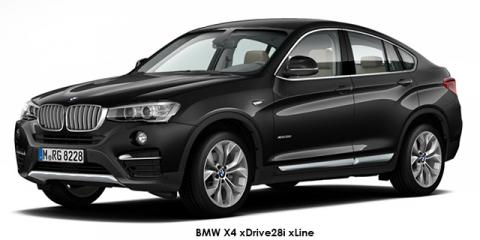 BMW X4 xDrive20i xLine - Image credit: © 2018 duoporta. Generic Image shown.