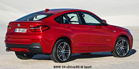 BMW X4 xDrive35i M Sport - Image credit: © 2018 duoporta. Generic Image shown.
