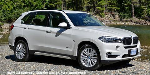 BMW X5 xDrive30d Exterior Design Pure Excellence - Image credit: © 2018 duoporta. Generic Image shown.