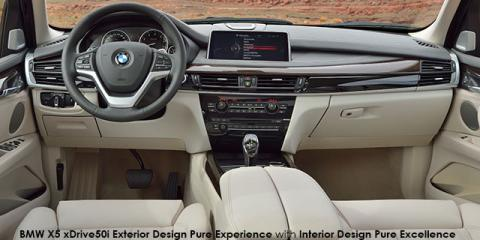 BMW X5 xDrive40e eDrive Exterior Design Pure Experience - Image credit: © 2018 duoporta. Generic Image shown.