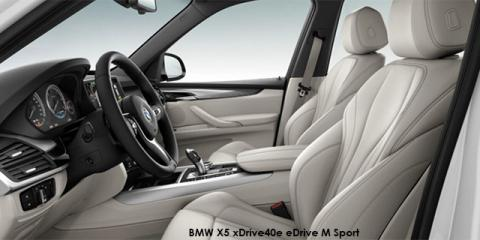BMW X5 xDrive40e eDrive M Sport - Image credit: © 2018 duoporta. Generic Image shown.