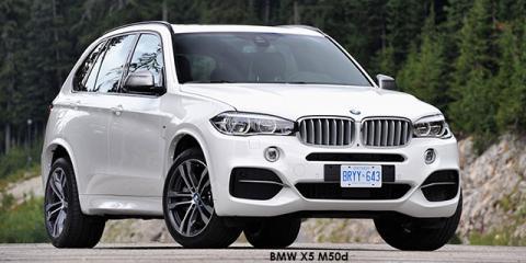 BMW X5 M50d - Image credit: © 2018 duoporta. Generic Image shown.