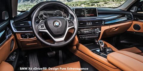 BMW X6 xDrive40d Exterior Design Pure Extravagance - Image credit: © 2018 duoporta. Generic Image shown.