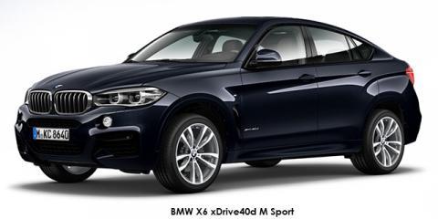 BMW X6 xDrive40d M Sport - Image credit: © 2019 duoporta. Generic Image shown.