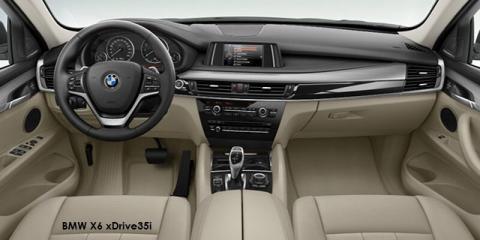 BMW X6 xDrive50i - Image credit: © 2018 duoporta. Generic Image shown.