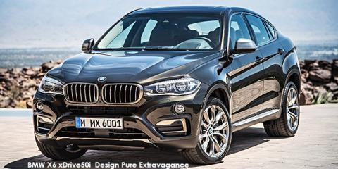 BMW X6 xDrive50i Exterior Design Pure Extravagance - Image credit: © 2019 duoporta. Generic Image shown.