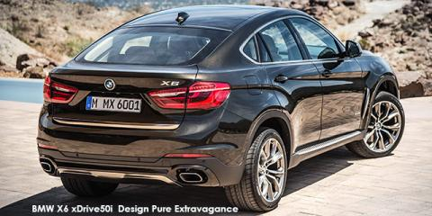 BMW X6 xDrive50i Exterior Design Pure Extravagance - Image credit: © 2018 duoporta. Generic Image shown.