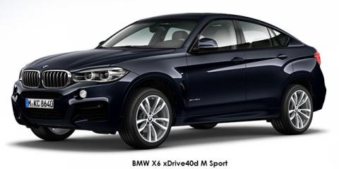 BMW X6 xDrive50i M Sport - Image credit: © 2018 duoporta. Generic Image shown.
