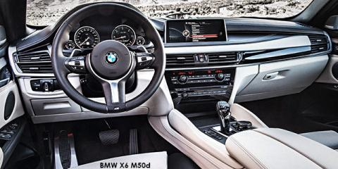BMW X6 M50d - Image credit: © 2019 duoporta. Generic Image shown.