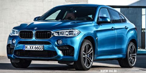 BMW X6 M - Image credit: © 2018 duoporta. Generic Image shown.