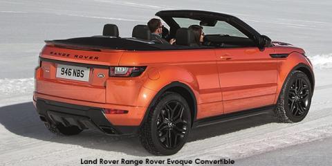 Land Rover Range Rover Evoque convertible HSE Dynamic Si4