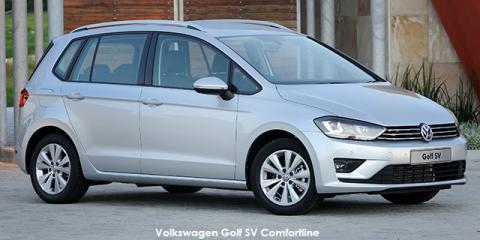 Volkswagen Golf SV 2.0TDI Comfortline auto