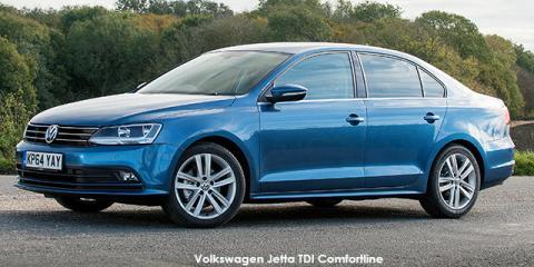 Volkswagen Jetta 1.4TSI Comfortline - Image credit: © 2018 duoporta. Generic Image shown.