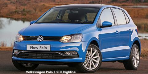 Volkswagen Polo hatch 1.2TSI Highline
