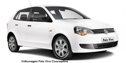 Volkswagen Polo Vivo hatch 1.4 Conceptline