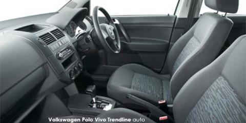 Volkswagen Polo Vivo sedan 1.4 Conceptline - Image credit: © 2018 duoporta. Generic Image shown.