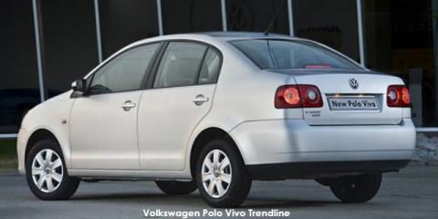 Volkswagen Polo Vivo sedan 1.4 Trendline - Image credit: © 2018 duoporta. Generic Image shown.