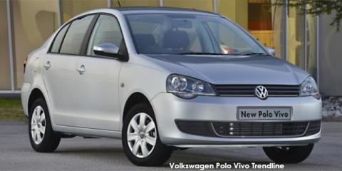 Volkswagen Polo Vivo sedan 1.6 Trendline