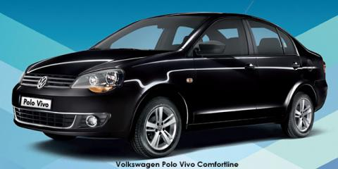 Volkswagen Polo Vivo sedan 1.6 Comfortline