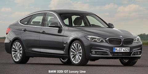 BMW 320i GT Luxury Line auto - Image credit: © 2018 duoporta. Generic Image shown.