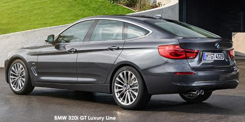 BMW 320d GT Luxury Line sports-auto - Image credit: © 2018 duoporta. Generic Image shown.