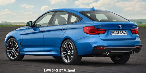 BMW 340i GT Sport Line sports-auto - Image credit: © 2018 duoporta. Generic Image shown.
