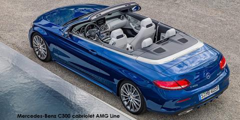 Mercedes-Benz C220d cabriolet AMG Line