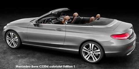 Mercedes-Benz C220d cabriolet Edition 1