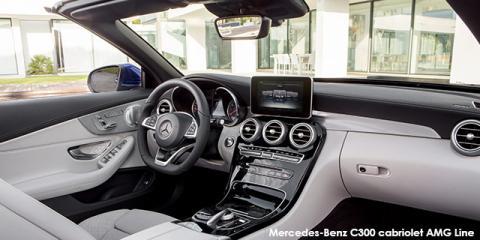 Mercedes-Benz C300 cabriolet AMG Line
