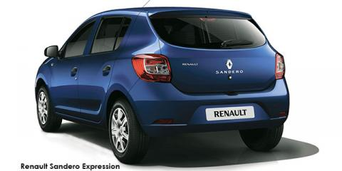 Renault Sandero 66kW turbo Expression (aircon)
