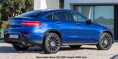 Mercedes-Benz GLC250d coupe 4Matic AMG Line