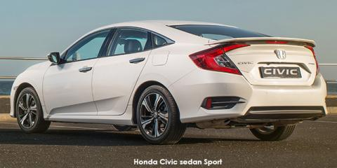 Honda Civic sedan 1.5T Sport - Image credit: © 2019 duoporta. Generic Image shown.
