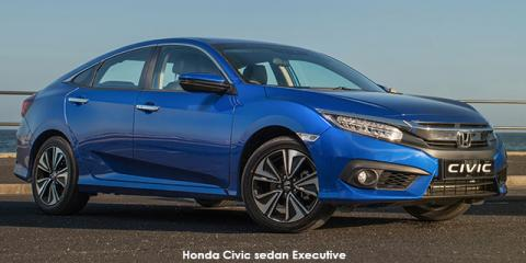 Honda Civic sedan 1.5T Executive - Image credit: © 2019 duoporta. Generic Image shown.