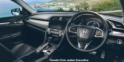 Honda Civic sedan 1.5T Executive - Image credit: © 2018 duoporta. Generic Image shown.