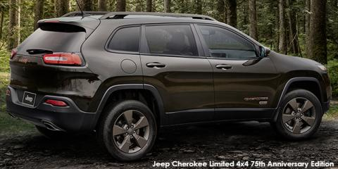 Jeep Cherokee 3.2L Limited 75th Anniversary Edition - Image credit: © 2018 duoporta. Generic Image shown.