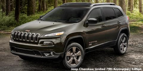 Jeep Cherokee 3.2L 4x4 Limited 75th Anniversary Edition