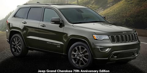 Jeep Grand Cherokee 3.6L Limited 75th Anniversary Edition - Image credit: © 2018 duoporta. Generic Image shown.