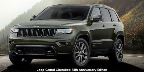 Jeep Grand Cherokee 3.0CRD Limited 75th Anniversary Edition - Image credit: © 2018 duoporta. Generic Image shown.