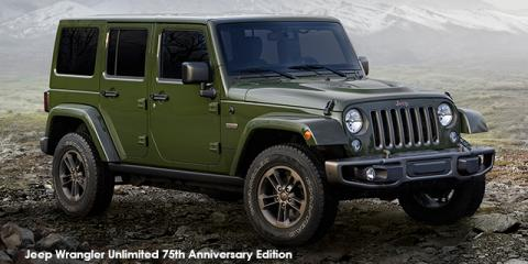 Jeep Wrangler Unlimited Sahara 3.6L 75th Anniversary Edition