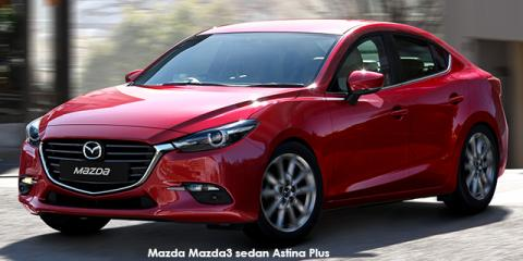 Mazda Mazda3 sedan 1.6 Dynamic auto - Image credit: © 2019 duoporta. Generic Image shown.